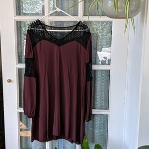 Express Dress with Lace Details